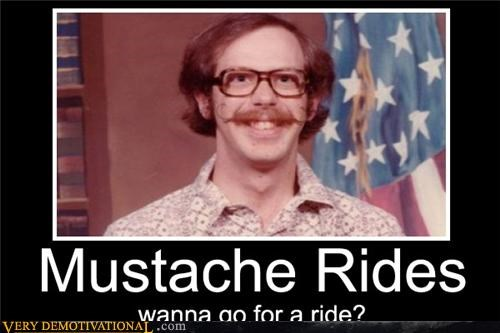 mustache ride wtf - 4545677312