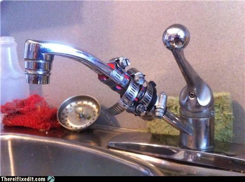 overkill plumbing sink wtf zip ties - 4545834496