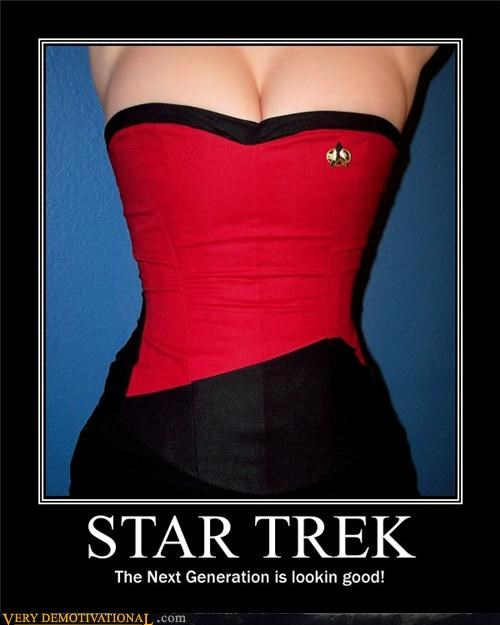 boobies costume sci fi Sexy Ladies Star Trek - 4545935360