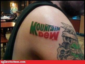 wtf logos mountain dew funny