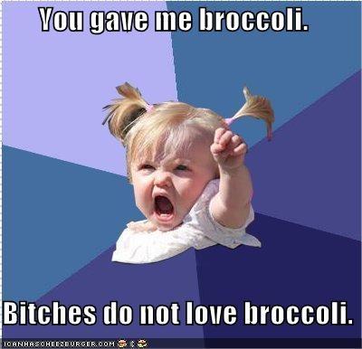 broccoli food toddler - 4546435584