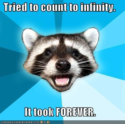 infinity Lame Pun Coon thats-a-lot - 4546673664