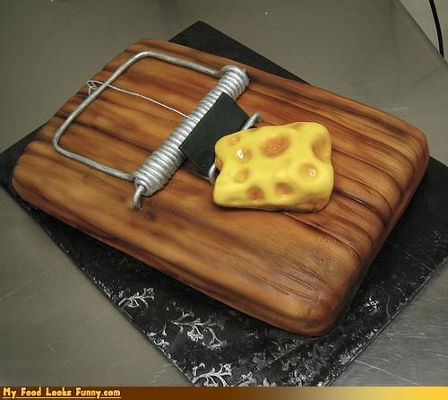 cake cheese deadly fondant mouse trap - 4547163392