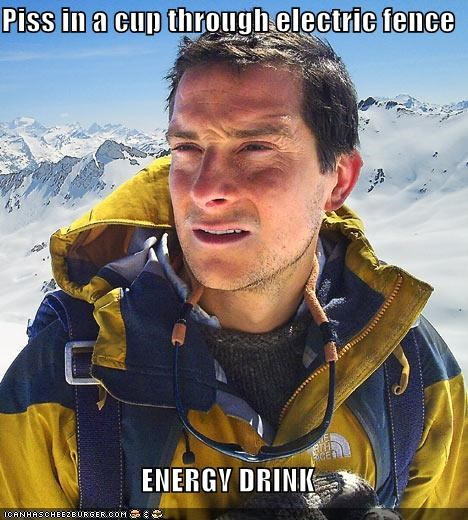 bear grylls electric fence electricity energy drink - 4547233024