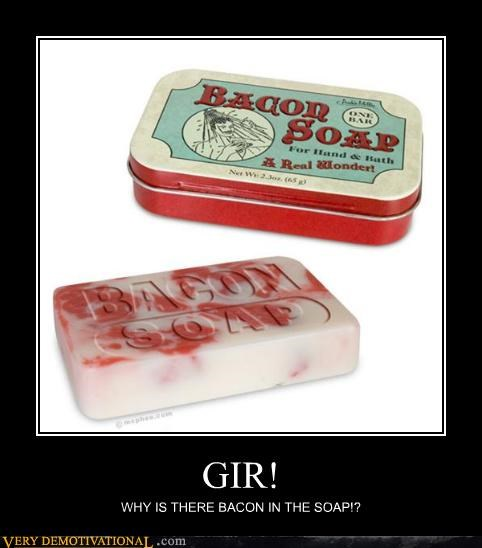 bacon,GIR,Invader Zim,soap,TV
