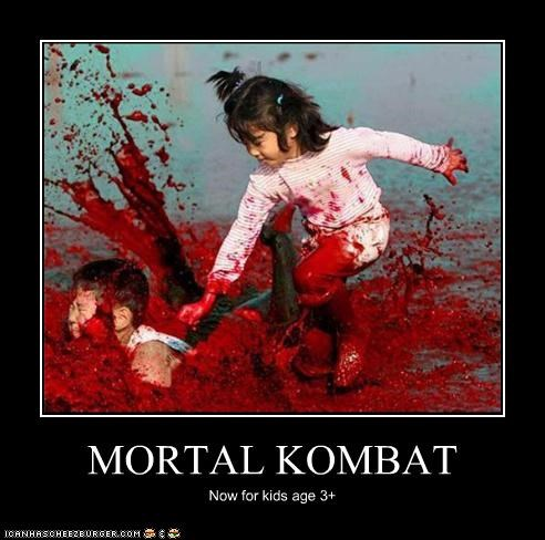 MORTAL KOMBAT Now for kids age 3+