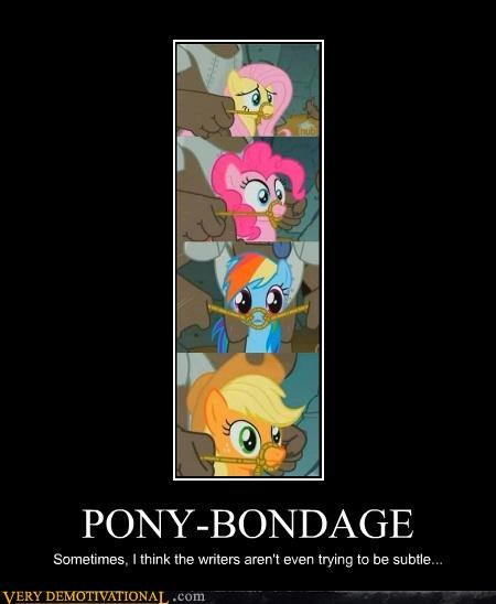 bondage cartoon,my little pony,wtf