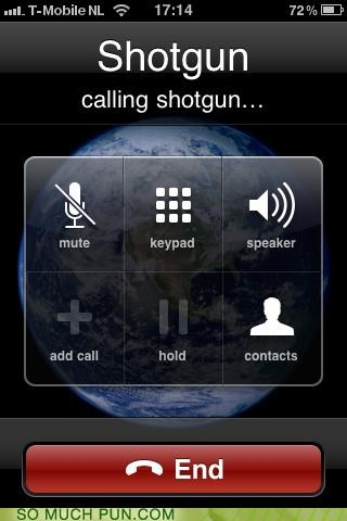 applegeeks call calling iphone literalism phone shotgun shotgun game - 4548328448