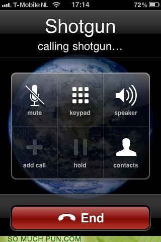 applegeeks call calling iphone literalism phone shotgun shotgun game - 4548328448