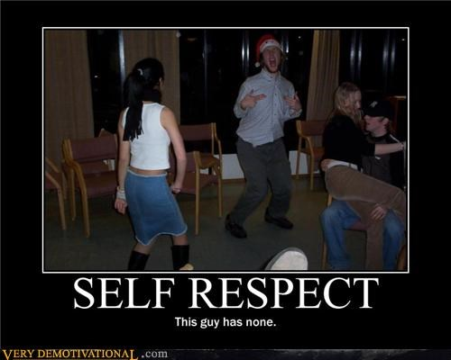 Party self respect that guy wtf