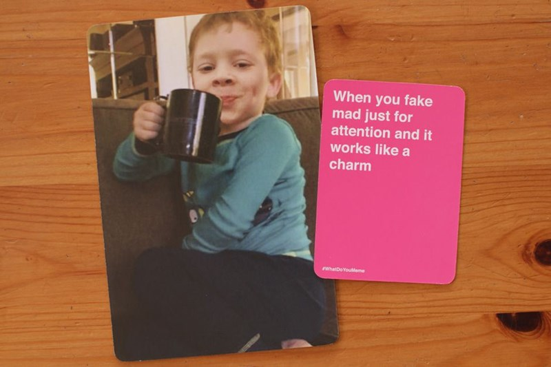 a hilarious card game