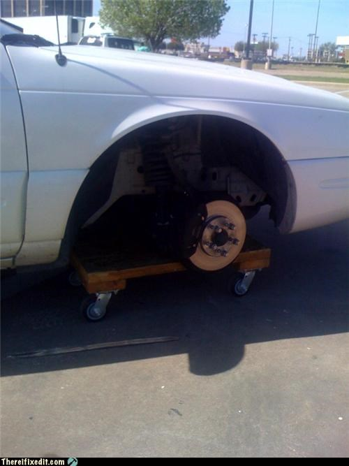 cars dangerous towing wheel wtf - 4548866048