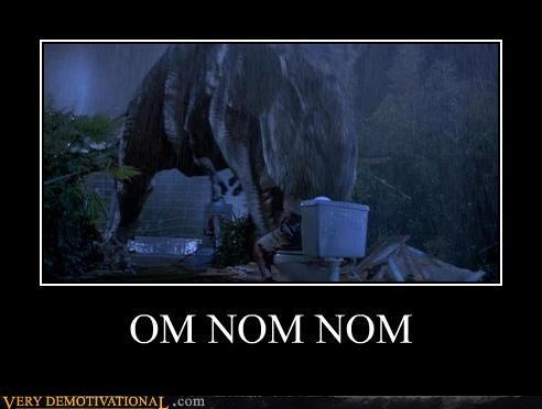 jurassic park,nom nom,toilet,t rex