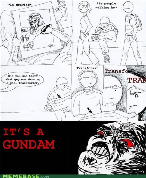 americans drawing gundam transformer - 4549079552