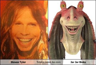 Aerosmith,jar jar binks,star wars,steven tyler