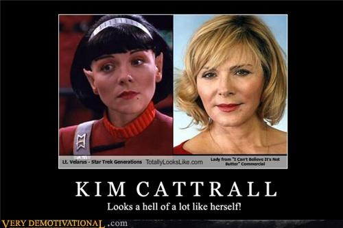 i-cant-believe-its-not-butter Kim Cattrall Star Trek - 4550152192