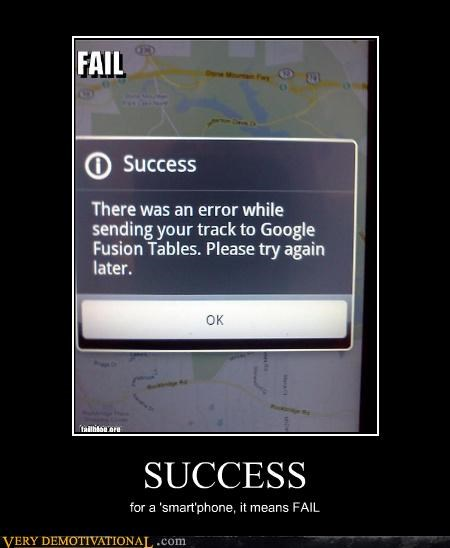 FAIL smart phones success - 4550924544