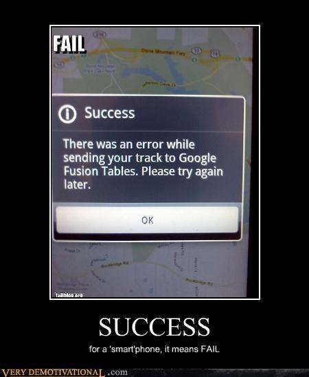 FAIL smart phones success - 4550924544