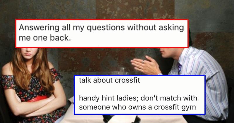 31 Women Share First Date Mistakes Men Make All Too Often
