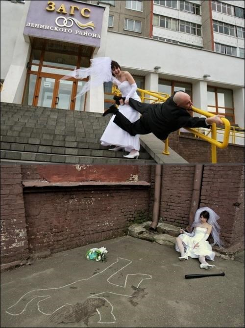 in russia Meanwhile Photo Series wedding photos