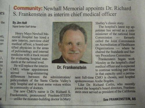 nice try Unfortunate Surname young frankenstein - 4552696832