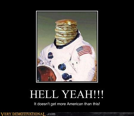 astronaut helmet pancakes - 4552884480