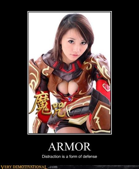 ARMOR Distraction is a form of defense