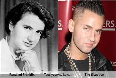 jersey shore Rosalind Franklin scientist the situation