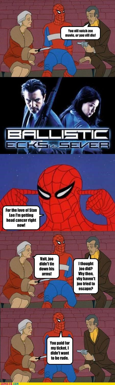 bad,ballistic,Movie,Spider-Man