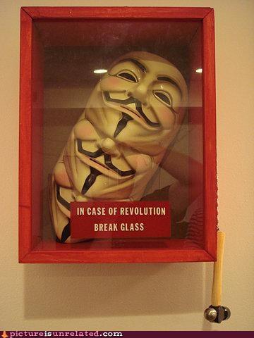glass masks revolution v for vendetta wtf