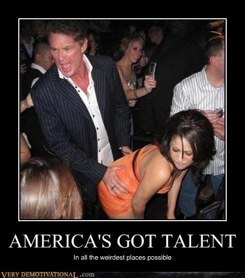 AMERICA'S GOT TALENT In all the weirdest places possible