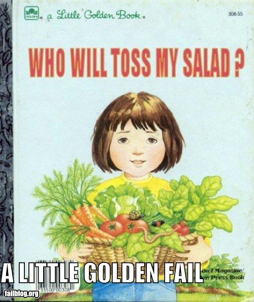 books childrens book failboat food innuendo salad - 4554510080