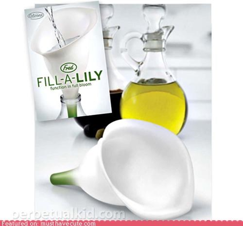 accessory Flower funnel kitchen lily tool - 4554526976