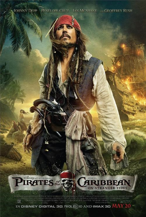 movie poster Pirates of the Caribbean - 4554640128