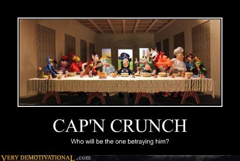 capn-crunch cereal last supper