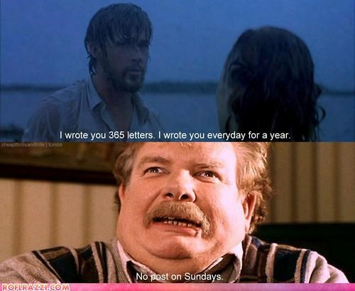 comic funny Harry Potter panel sci fi the notebook - 4554707712