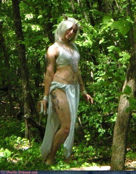 bikini cosplay unicorn wtf - 4556096512