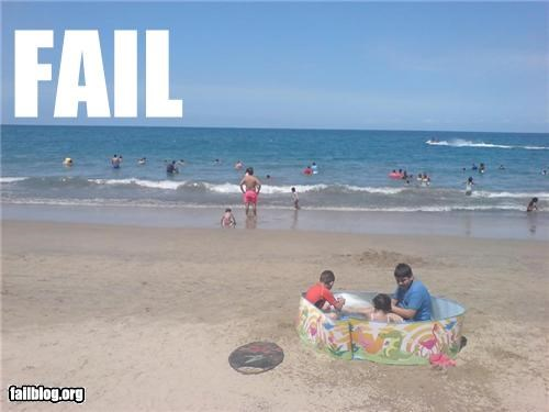 beach classic failboat fun g rated ocean pool really summer fails water