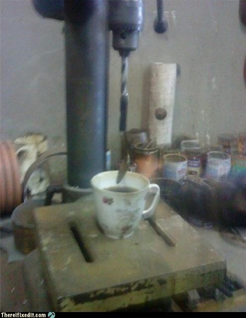 coffee dangerous drill mixer Professional At Work