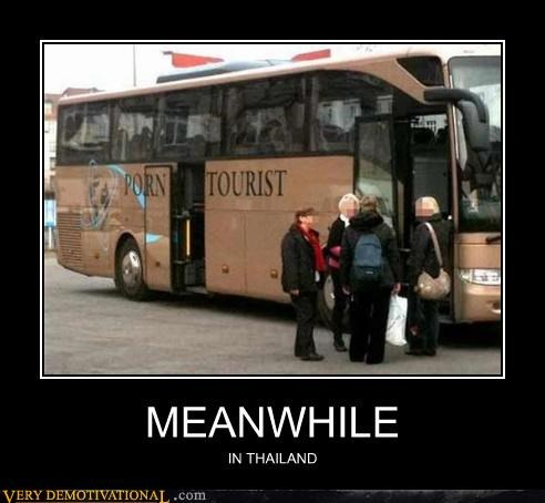 bus Meanwhile pron tourist thailand wtf - 4557130240