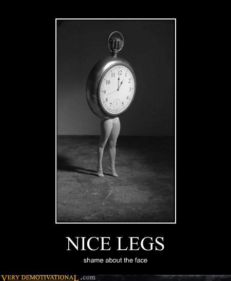 clock,legs,pocket watch,sexy