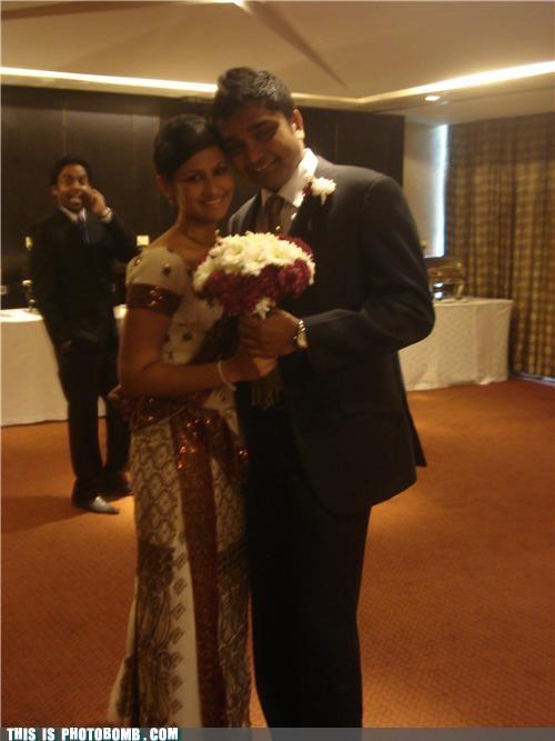 formal phone photobomb tuxedo wedding - 4557175296