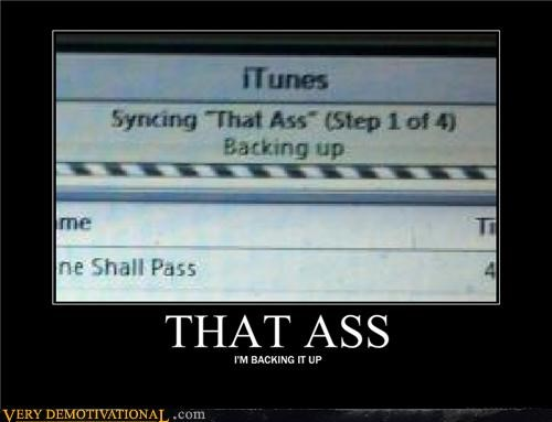 iTunes,that ass