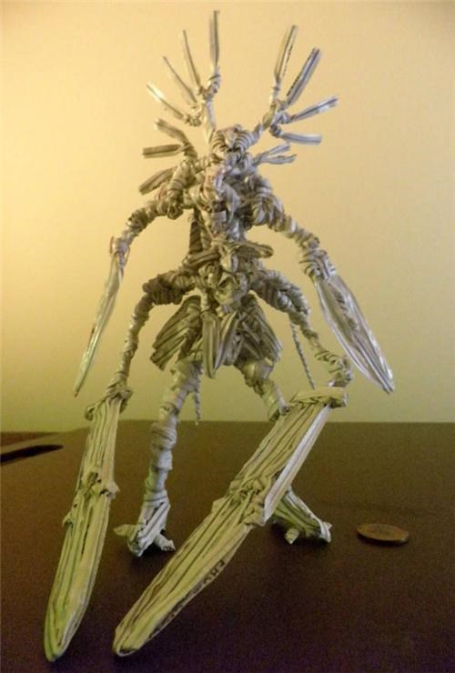Fan Art,Ionustron,RPG,twist tie figurine
