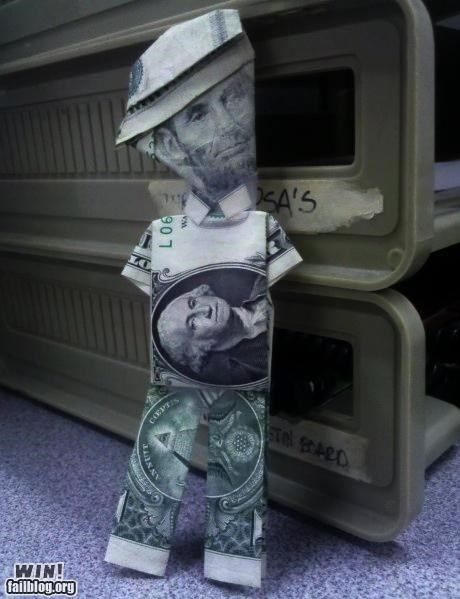 Abe Lincoln,art,dollar bill,money
