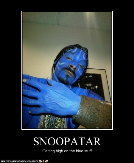 SNOOPATAR Getting high on the blue stuff