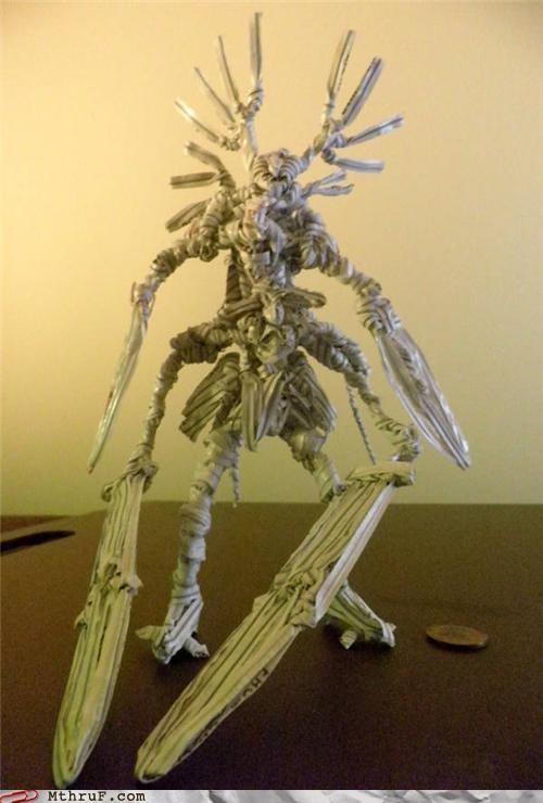 awesome boredom creativity tie twist twist tie fantasy figurin win - 4557562368