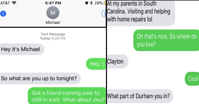 Emotionally manipulative guy overreacts in crazy texting rant with girl he hasn't even met yet.