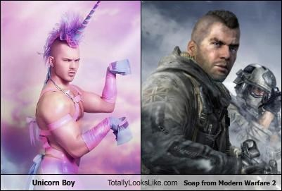 costume,gay,modern warfare 2,soap,unicorn,unicorn boy,video games