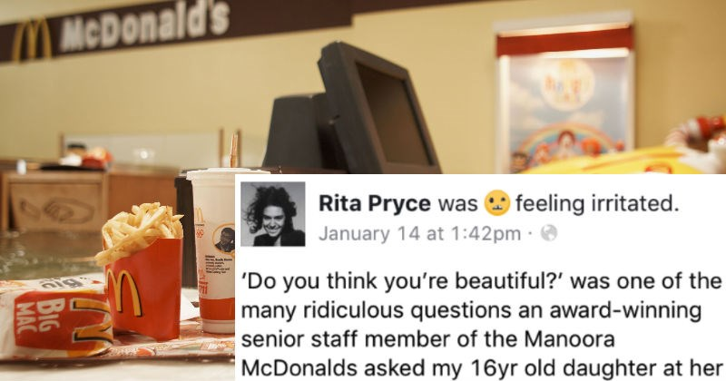 Angry mom puts McDonald's on blast in an angry, fiery Facebook rant.